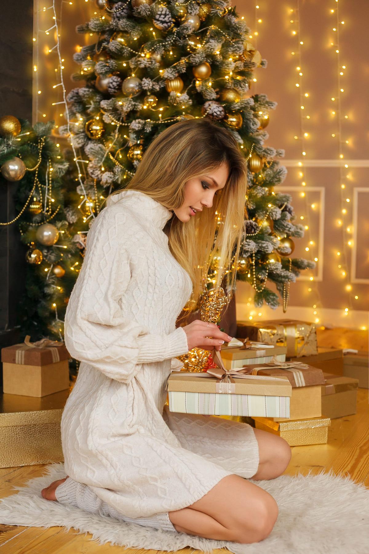 Новый год 2020 - модель Елена Любимая 003