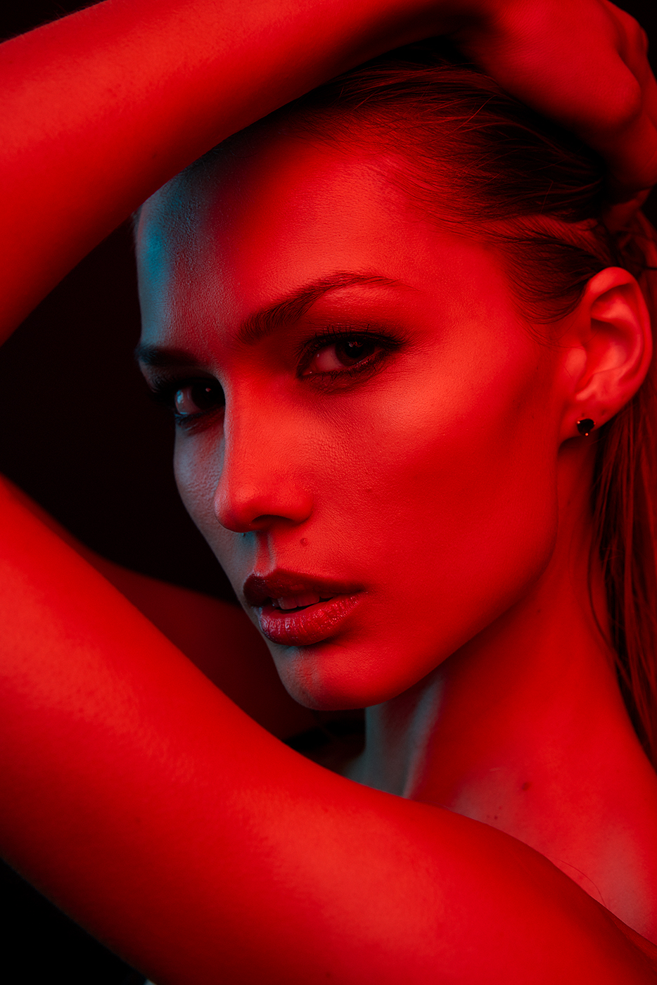 портрет модель Елена Любимая 007