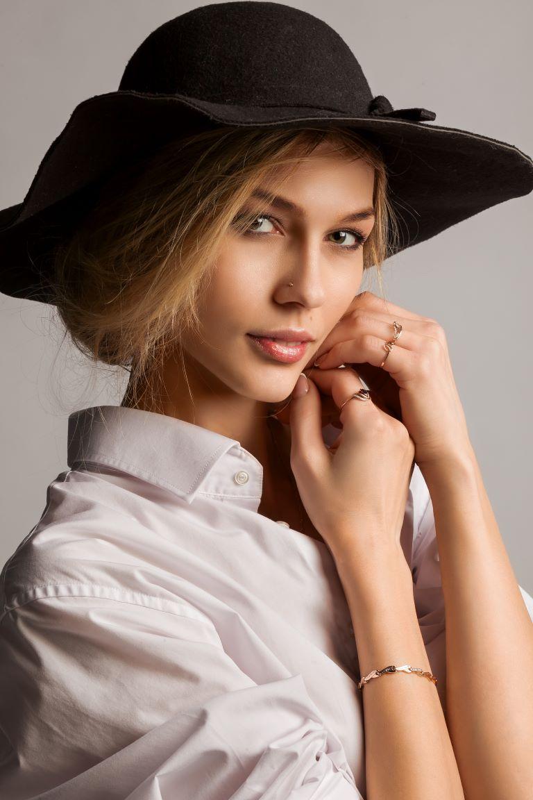 портрет модель Елена Любимая 001