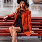 модель Елена Любимая - прогулка по Москве 002